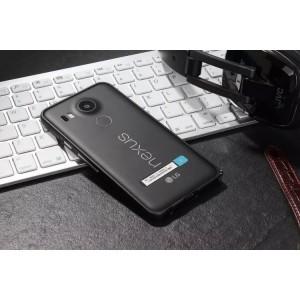 Металлический бампер для Google LG Nexus 5X Черный