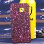 Пластиковый матовый дизайнерский чехол с голографическим принтом Звезды для Samsung Galaxy S6 Edge Plus