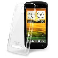 Пластиковый транспарентный олеофобный премиум чехол для HTC Desire 500