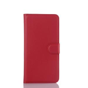 Чехол портмоне подставка с защелкой для Samsung Galaxy S6 Edge Plus Красный