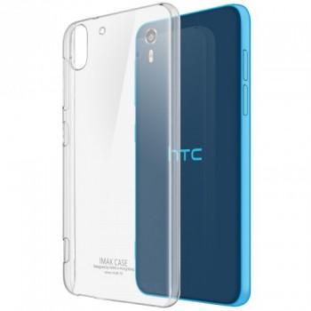 Пластиковый транспарентный олеофобный премиум чехол для HTC Desire Eye