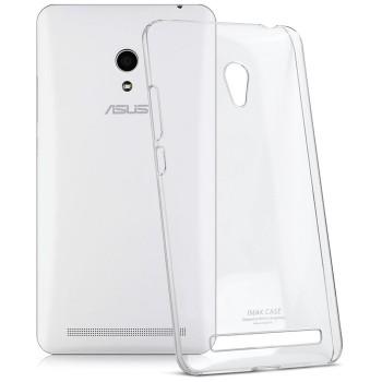 Пластиковый транспарентный олеофобный премиум чехол для ASUS Zenfone 6