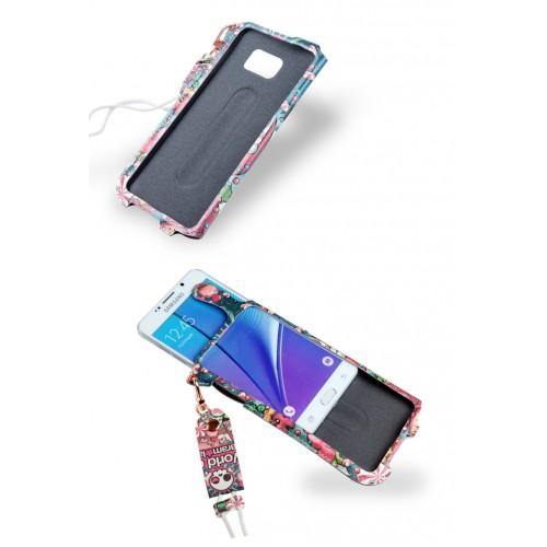 Чехол мешок с полноповерхностным принтом для Samsung Galaxy S6 Edge Plus