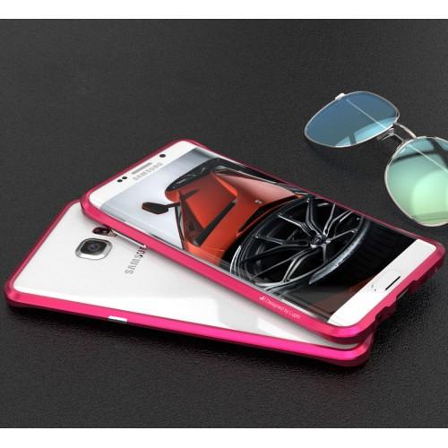 Металлический бампер сборного типа на винтах для Samsung Galaxy S6 Edge Plus