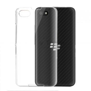 Пластиковый транспарентный чехол для Blackberry Z30