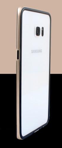 Двухкомпонентный бампер силикон/поликарбонат для Samsung Galaxy S6 Edge Plus