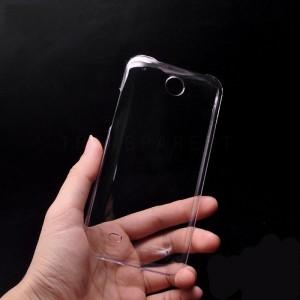 Пластиковый транспарентный чехол для HTC Desire 300