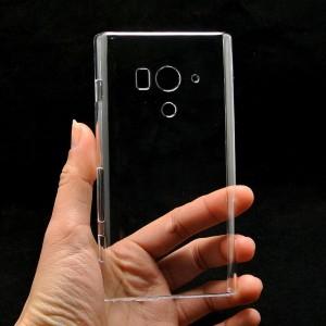 Пластиковый транспарентный чехол для Sony Xperia acro S