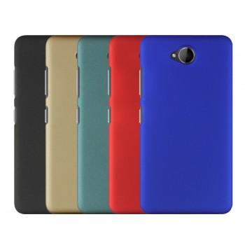 Пластиковый матовый непрозрачный Металлик чехол для Microsoft Lumia 650