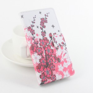 Текстурный чехол флип подставка на силиконовой основе с полноповерхностным принтом и отделением для карт для Microsoft Lumia 650