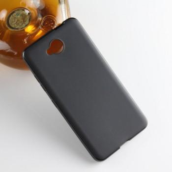 Силиконовый матовый непрозрачный чехол для Microsoft Lumia 650