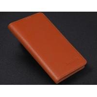 Кожаный чехол портмоне (нат. кожа) для Philips Xenium V787