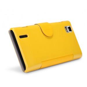 Чехол флип с магнитной застежкой для Huawei Ascend P2