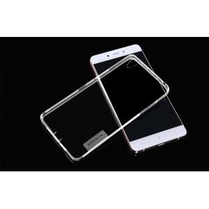 Силиконовый матовый полупрозрачный чехол повышенной защиты для OnePlus X Белый