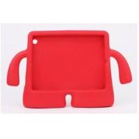 Детский ультразащитный гиппоаллергенный силиконовый фигурный чехол для планшета Ipad 2/3/4 Красный