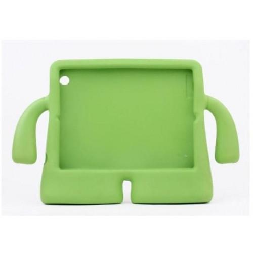Детский ультразащитный гиппоаллергенный силиконовый фигурный чехол для планшета Ipad 2/3/4 Синий