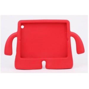 Детский ультразащитный гиппоаллергенный силиконовый фигурный чехол для планшета Ipad Mini 1/2/3 Красный