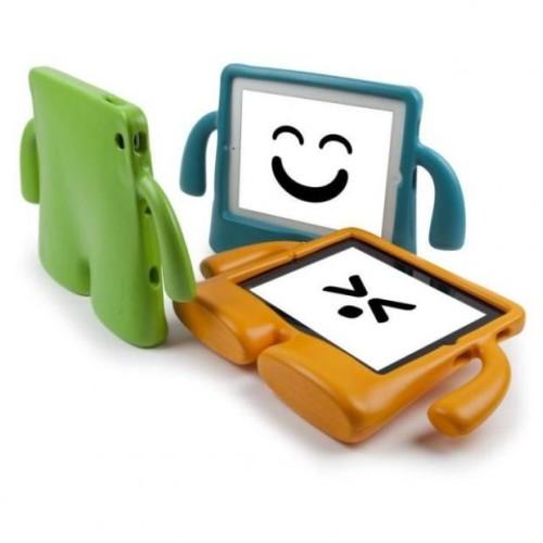 Детский ультразащитный гиппоаллергенный силиконовый фигурный чехол для планшета Ipad Air