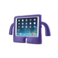 Детский ультразащитный гиппоаллергенный силиконовый фигурный чехол для планшета Ipad Mini 1/2/3 Фиолетовый