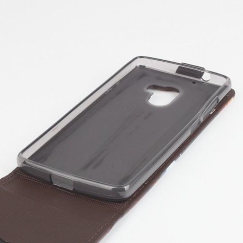 Чехол вертикальная книжка на силиконовой основе с магнитной застежкой и полноповерхностным принтом для Lenovo A7010
