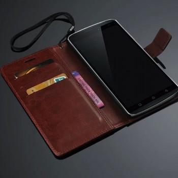 Чехол портмоне подставка с защелкой для Lenovo A7010
