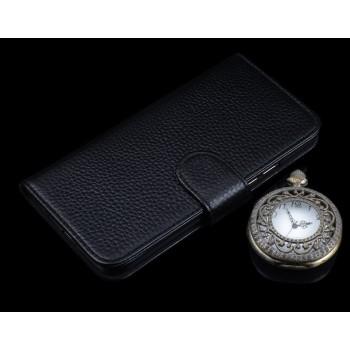 Кожаный чехол портмоне (нат. кожа) для Lenovo A7010