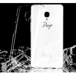 Пластиковый транспарентный чехол для Alcatel OneTouch Pop Up