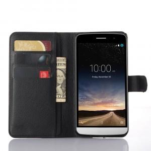 Чехол портмоне подставка с защелкой для LG Ray Черный
