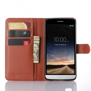 Чехол портмоне подставка с защелкой для LG Ray