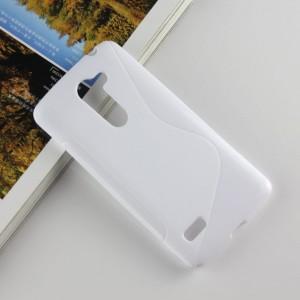 Силиконовый S чехол для LG Ray Белый