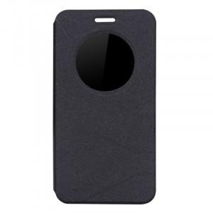 Чехол флип подставка на силиконовой основе с окном вызова текстура Линии для ASUS ZenFone Max