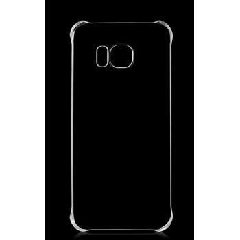 Пластиковый транспарентный чехол для Samsung Galaxy S7 Edge