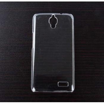 Пластиковый транспарентный чехол для Alcatel One Touch Idol