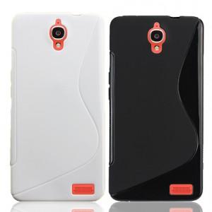 Силиконовый чехол S для Alcatel One Touch Idol X