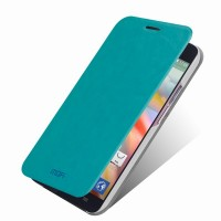 Чехол флип водоотталкивающий для Alcatel One Touch Idol X Голубой