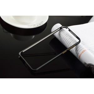 Металлический бампер для Meizu M2 Mini Черный