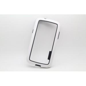 Силиконовый бампер для Samsung Galaxy Core Белый
