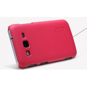Пластиковый матовый премиум чехол для Samsung Galaxy Core