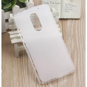 Силиконовый матовый полупрозрачный чехол для Lenovo Vibe X3 Белый