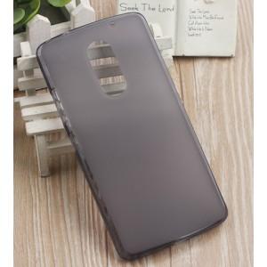 Силиконовый матовый полупрозрачный чехол для Lenovo Vibe X3 Серый