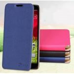 Чехол флип подставка текстурный на пластиковой основе для LG Optimus G2 mini (d620 d618)