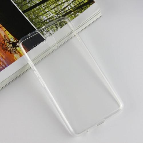 Пластиковый транспарентный чехол для Alcatel OneTouch Pop 3 (5.5)