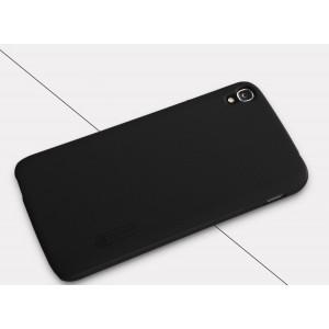 Пластиковый матовый нескользящий премиум чехол для Alcatel One Touch Idol 3 (5.5)