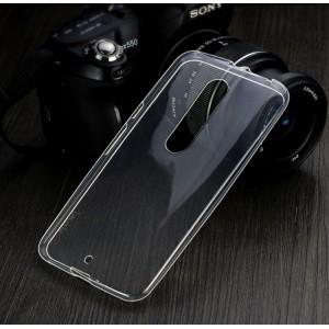 Силиконовый транспарентный чехол для Lenovo Moto X Style