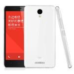 Пластиковый транспарентный олеофобный премиум чехол для Xiaomi RedMi Note 2
