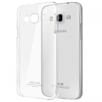 Пластиковый транспарентный олеофобный премиум чехол для Samsung Galaxy A3