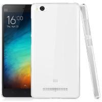 Пластиковый транспарентный олеофобный премиум чехол для Xiaomi Mi4i
