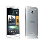 Пластиковый транспарентный олеофобный премиум чехол для HTC One (М7) Single SIM
