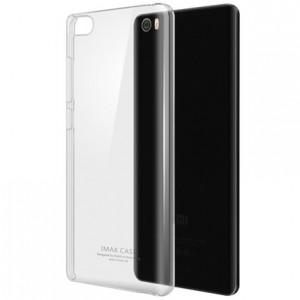 Пластиковый транспарентный олеофобный премиум чехол для Xiaomi Mi Note