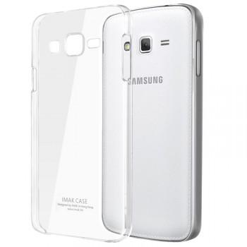 Пластиковый транспарентный олеофобный премиум чехол для Samsung Galaxy Grand Prime